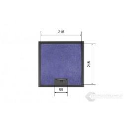 Floorbox do wykładziny na 6 gniazda M45