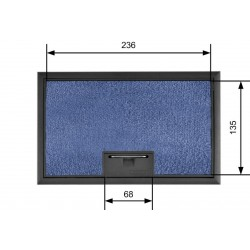 Puszka podłogowa na 4 gniazda podłoga 35-50 mm
