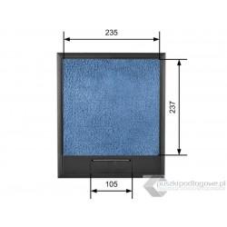 Puszka podłogowa na 12 gniazd podłoga 15-35 mm