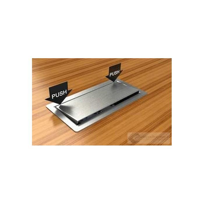 Floorbox 3303-EPL , metalowa, 3 gniazda zasilające