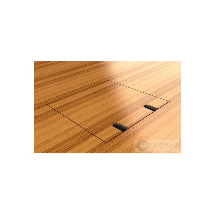 Floorbox 8802-BPL , 2 gniazda zasilające