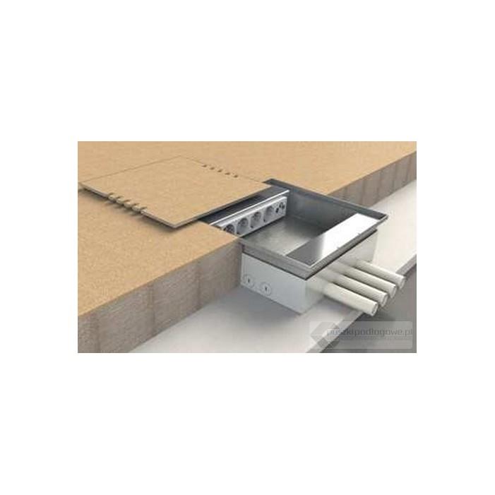 floorbox 6x230v i 4xrj45 do wyk adziny wykonana z odlewu aluminiowego. Black Bedroom Furniture Sets. Home Design Ideas