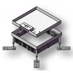 Kontakt podłogowy z blachy nierdzewnej HBKK Q06 do podłogi betonowej