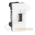 Gniazdo USB biały Legrand Mosaic M45