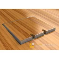 Floorbox ze stali nierdzewnej na 2 gniazda, parkiet/panele/deska/gres/terakota, do betonu.