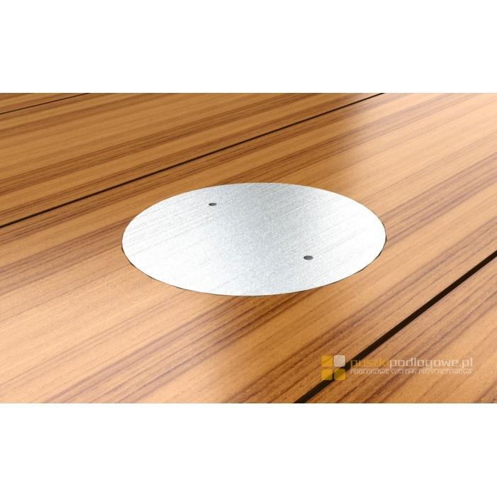Floorbox 7701-EPL , IP67 1 gniazdo zasilające dekiel nierdzewka
