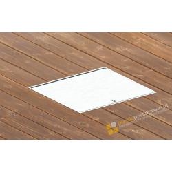 Puszka podłogowa IP65 aluminiowa szczelna
