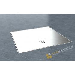 Puszka podłogowa IP65 z aluminiowym wiekiem 3 gniazda