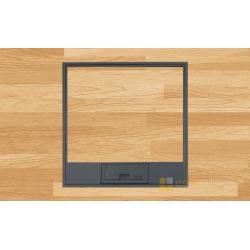 Puszka podłogowa do drewnianej podłogi na 8 gniazd